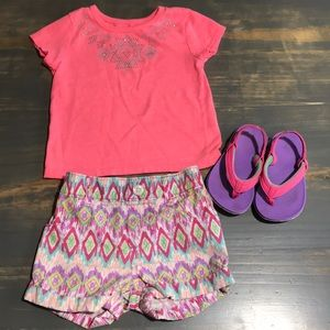 Other - 18 month outfit w/ size 5 sandals